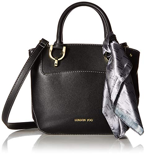 London Fog Wembley Satchel Black