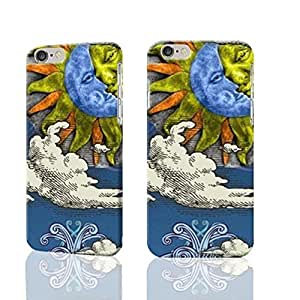 """Sun And Moon Celestial 3D Rough iphone Plus 6 -5.5 inches Case Skin, fashion design image custom iPhone 6 Plus - 5.5 inches , durable iphone 6 hard 3D case cover for iphone 6 (5.5""""), Case New Design By Codystore"""