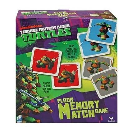 Teenage Mutant Ninja Turtles, Floor Memory Match Game by ...
