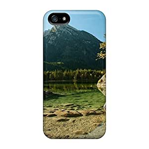For Iphone Case, High Quality Amazing Clear Lake For Iphone 5/5s Cover Cases