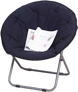 Dond Moon Chair Sun Lounger Lazy Chair Radar Chair Sedia reclinabile Sedia Pieghevole Sedia Divano (Colore : Green)