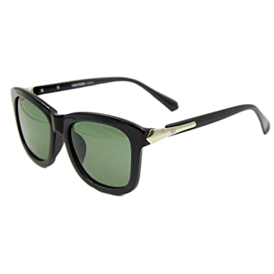 b1131db9d78 Image Unavailable. Image not available for. Colour  Vhccirt Classic  Sunglasses Black Full Frame Polarized Lens Sunglasses Unisex