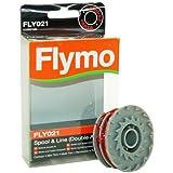 Flymo 5139371909 Bobine double fil pour coupe-bordure Compatible FLY021 FLY21 Modèles Contour Mini Trim Multi Trim Power Trim et Revolution