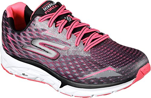 Skechers Damen Go Run Forza 2021 Outdoor Fitnessschuhe Black