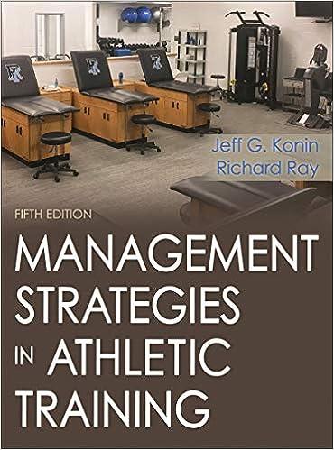 Management Strategies In Athletic Training 9781492536185