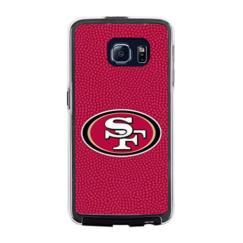 NFL San Francisco 49ers Football Pebble Grain Feel No Wordmark Samsung Galaxy S6 Case, Team Color
