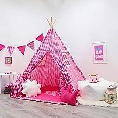 31a02bb13 Kids Teepee Tent Set
