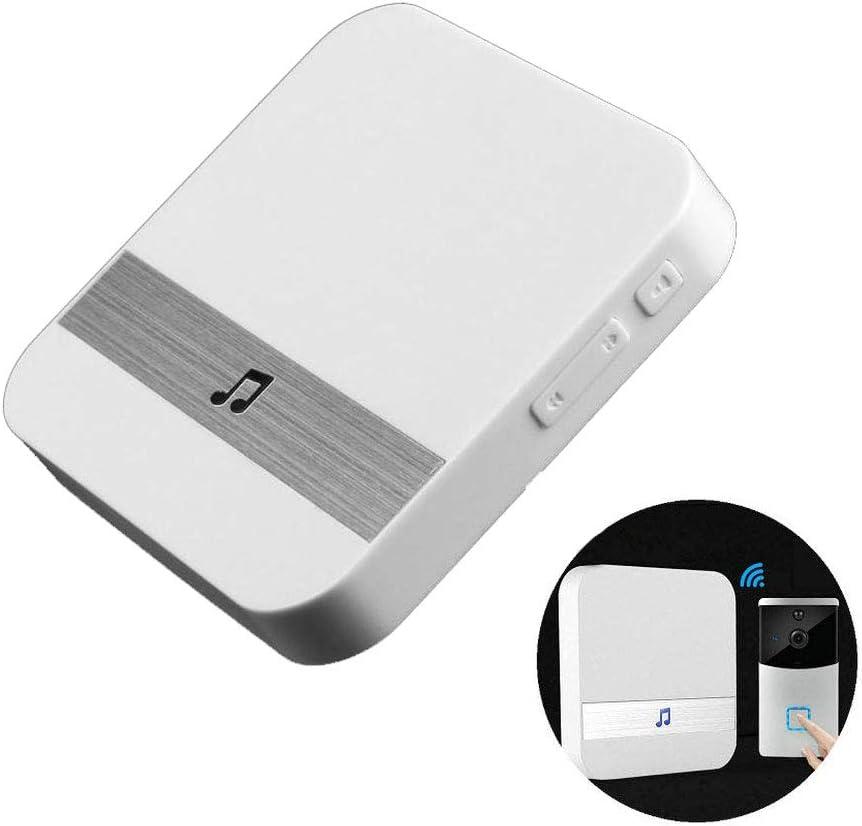TEKCAM Wireless Doorbell Chime Door Window Sensor Ding-Dong Alarm Chime Compatible with SARCCH MOUNTDOG DEBARK Wifi Smart Video Doorbell Home Security (Only Dingdong Doorbell Chime)