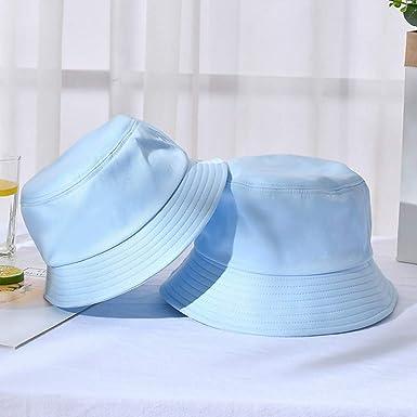 FUUIYEO Sombrero panamá Gorra de Cubo Plegable de Verano Unisex ...