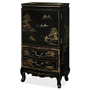 China furniture online jewelry armoire for Armoires lingeres