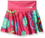 Desigual Big Girls' Skirt Fumanya, Fuchsia Rose, 9/10