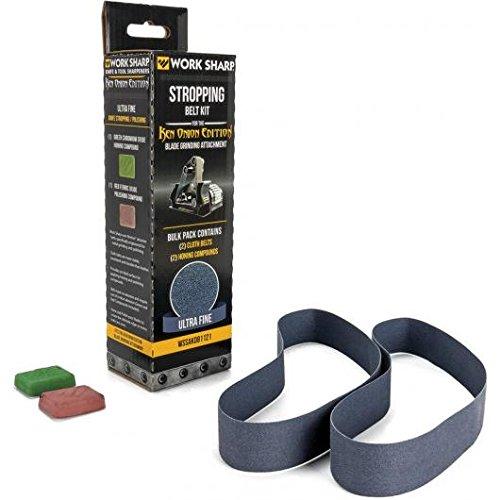 Work Sharp Blade Grinder Cloth Belt Stropping Kit Ken Onion Edition
