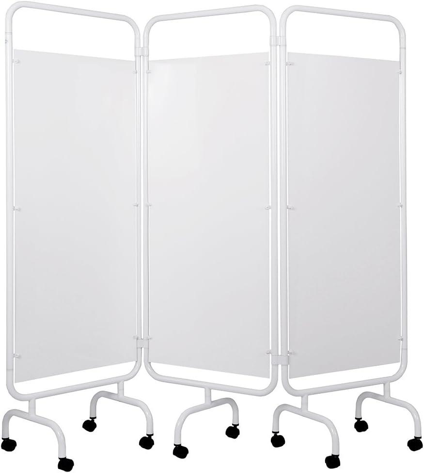 Viva Medi - Pantalla de privacidad médica de tres paneles de PVC: Amazon.es: Salud y cuidado personal