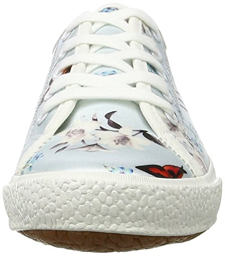 23610 Tamaris Multicolore Sneakers Femme 875 blue Floral Basses Rwdrw