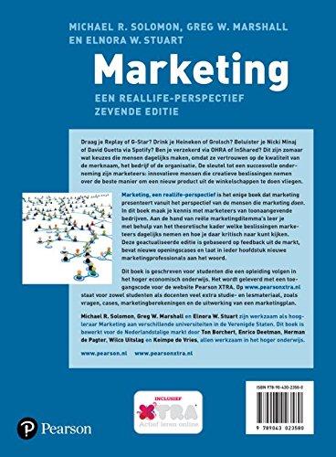 Marketing: een reallife-perspectief: Amazon.es: Michael R. Solomon, Greg W. Marshall, Elnora W. Stuart, Ton Borchert, Enrico Deetman, Herman De Pagter: ...