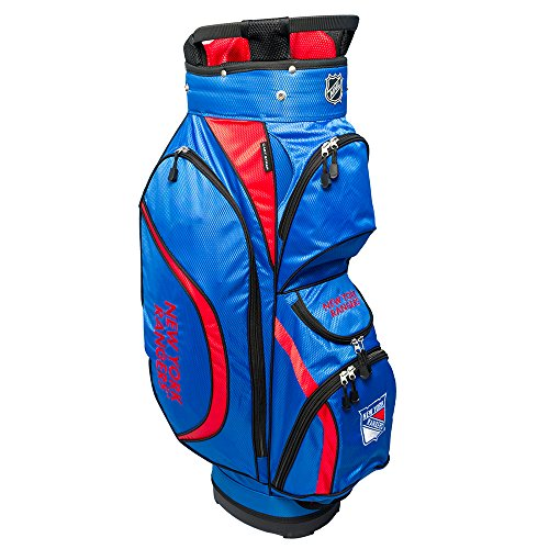 NHL New York Rangers Clubhouse Golf Cart Bag, N/A, - Rangers Clubhouse