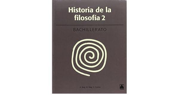 Historia de la filosofía 2. Bachillerato 2016 - 9788430753673: Amazon.es: Baig Nogués, Antoni, Baig Viñas, Marçal, Codina Illamola, Salvador: Libros