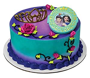 Disney Descendants Apple Cake Topper Diy