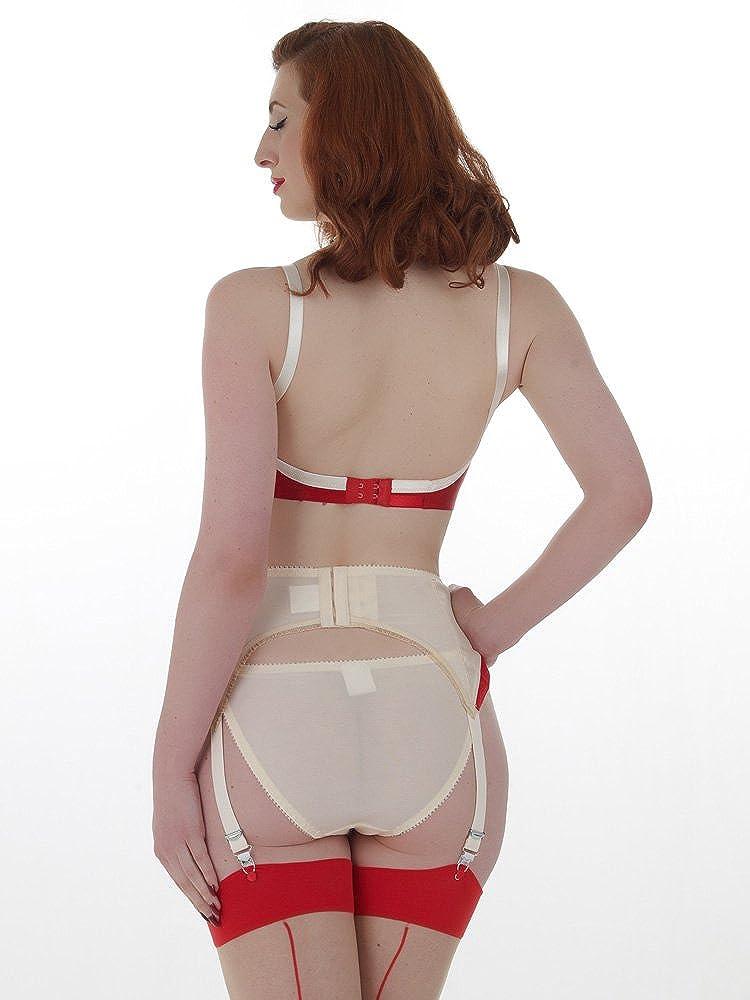 2034818f84e8 What Katie Did L6056 Marlene Suspender Belt: Amazon.co.uk: Clothing