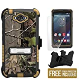 Droid Turbo Case, XT1254 Case, Beyond Cell3 in 1 Combo Rugged High Impact Hybrid Hard- Hunter Tree Camo