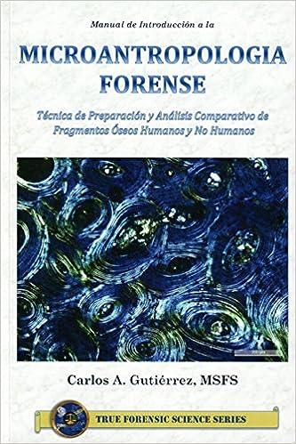 Amazon.com: Manual de Microantropología Forense ...