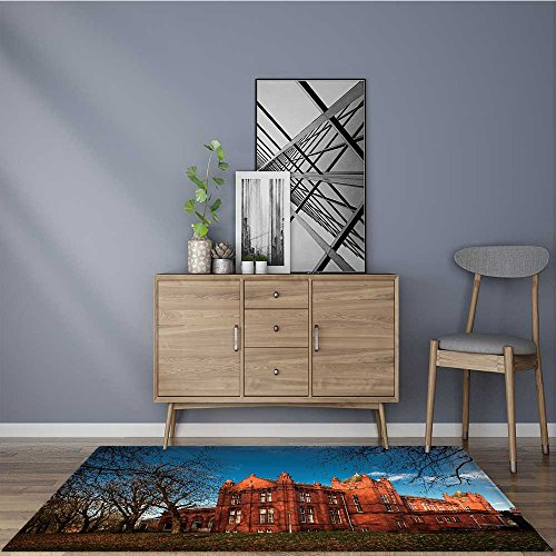 Living Dining Room Bedroom Rug the whitworth art gallery is an art gallery in manchester england Non Slip Absorbent Carpet 5' X 8'