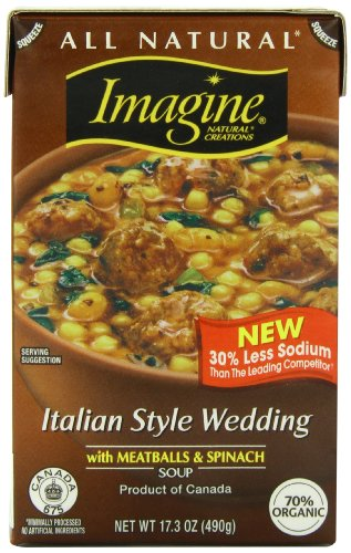 Imagine Soup, Italian Style Wedding, 17.3 Ounce (Sugar Free Tomato Soup)
