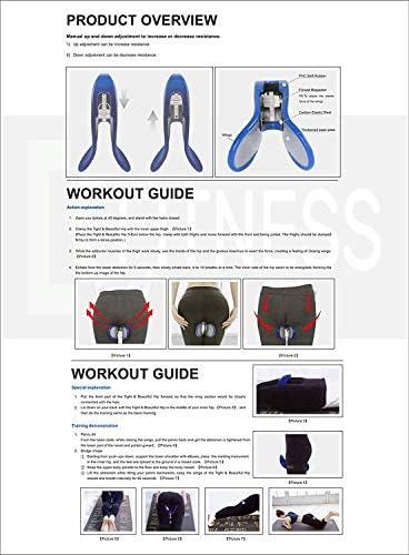 ColorSpring Kegel Exerciser Pelgrip Pelvic Floor Muscle Medial Exerciser Hip Muscle Inner Thigh Trainer Correction Beautiful Buttocks for Women