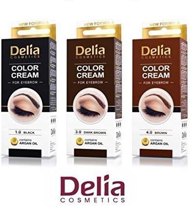 3 Numero Delia Henna Crema Cejas Pestañas Profesionales En ...