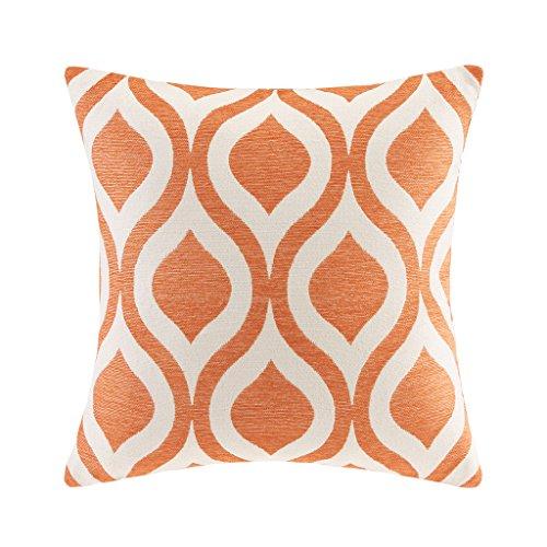 Verona Chenille Square Pillow Orange (Verona Modern Sofa)