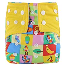 Unisex Baby Anti Leakage Training Pants One Size Nappy Underwear Cloth Diaper