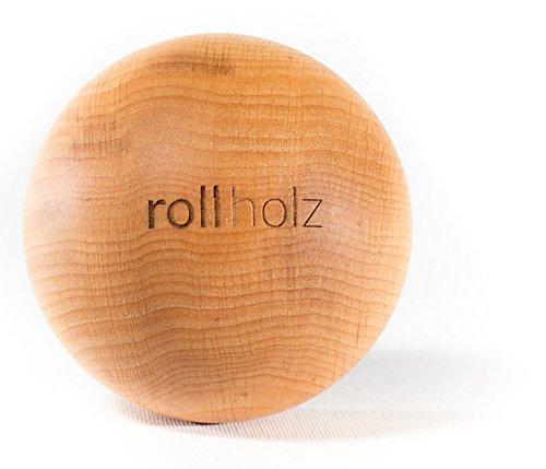 rollholz Faszienkugel//Massage-Kugel Aus Erle 7 cm