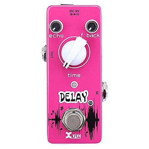 Xvive Analog Delay Guitar Effects Pedal - V5 by Xvive