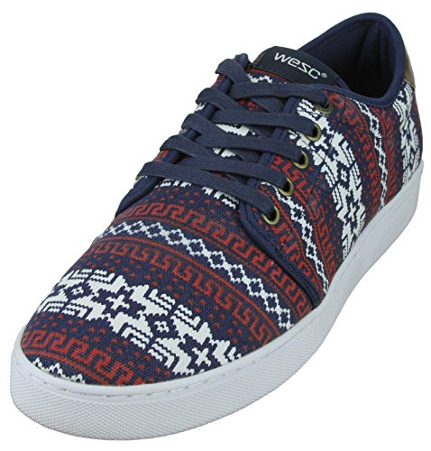 Wesc Mens Edmond Fashion Sneakers Mood Indigo bWhHc