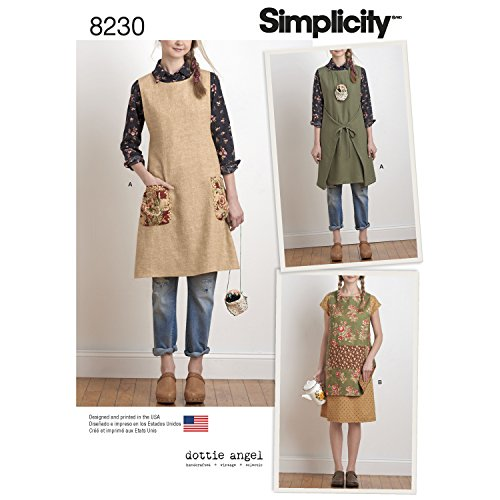 Simplicity Creative Patterns US8230A 823 - Reversible Apron Pattern Shopping Results