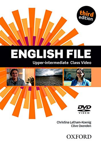 - English File third edition: Upper-intermediate: Class DVD: The best way to get your students talking [VHS]