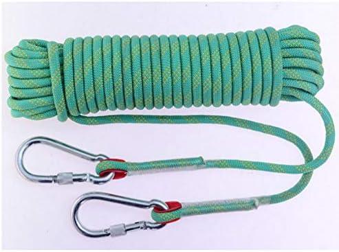 ロープ、救助ロープ、消防ロープジムクライミングロープ安全耐久ロープクライミング機器 18mm * 10m/20m/30m,d,20m