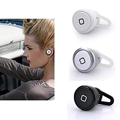 A-OK Smallest Wireless Stereo Music Bluetooth 3.0 Headset Hands-free Earphone Headphone for iPad 1/2/3, new iPad, iPod and Samsung Galaxy S2, S3, S4, Galaxy note 2,Note 3, I9100, I9300, I9500,HTC ONE,M8
