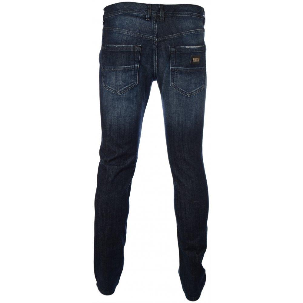 Iceberg 5 Pocket Washed Slim Fit Jeans