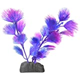 Penn-Plax Betta Plant-Fan Palm Blue/Pink