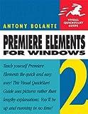 Premiere Elements 2, Antony Bolante, 0321383559
