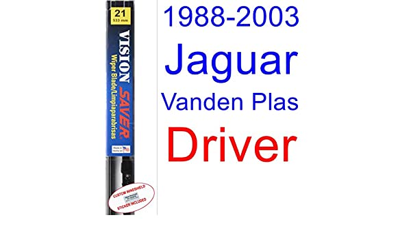 Amazon.com: 1988-2003 Jaguar Vanden Plas Wiper Blade (Driver) (Saver Automotive Products-Vision Saver) (1989,1990,1991,1992,1993,1994,1995,1996,1997,1998 ...