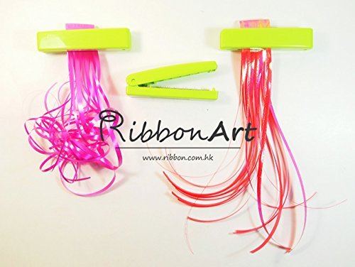 RibbonArt Ribbon Shredder, Ribbon Curler with Metal Teeth Blade