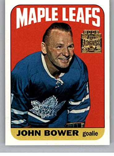 2001-02 Topps Archives Hockey #52 Johnny Bower Toronto Maple Leafs