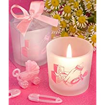 120PC FC8356 Favor Saver Baby Girl themed Candle Favors Wedding Baby Shower Favo