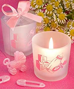 Amazon.com: Baby Girl Candle Favors, 29: Kitchen & Dining