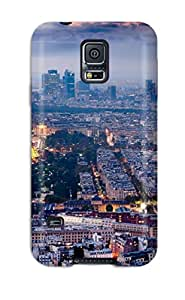 New Style Galaxy Case - Tpu Case Protective For Galaxy S5- City Of Paris 9334690K71613060