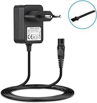 BERLS 15V 0.36A 5.4W Adaptador de Corriente Cargador Afeitadora para Philips Series 5000 3000 7000 BT5206 HQ7300 ...