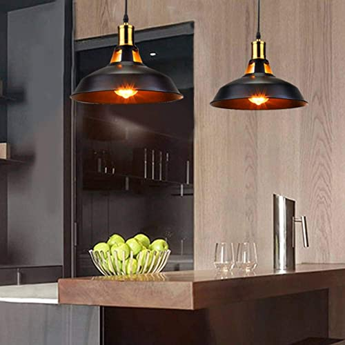 SUNVP Industrial Dimmable Pendant Lights Plug