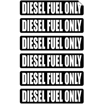 Unleaded Fuel Only Sticker Safety Decal Label D861 Unleaded Gas Only